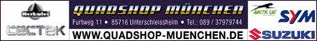 Banner Quad-Shop München