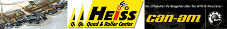 Banner Heiss Quad & Rollercenter