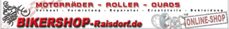 Banner Bikershop Raisdorf