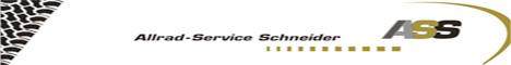 Banner ASS Allrad Service Schneider