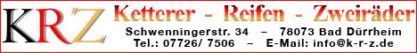 Banner KRZ Ketterer Reifen ZweirŠder
