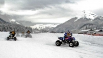 Int. Quad & ATV Schnee SpeedWay Cup: 4. Lauf in Achenkirch am 14. Feb 2009