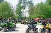 Jede Menge Leute: fanden sich bei Ettlingen zum 2. Quad Event Baden ein