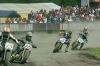 In Homberg mit dabei: 14 Motorrad-Piloten der Flattrack-Klasse