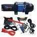 Seilwinde X4000: Lieferung mit Anbausätzen für viele gängige ATVs