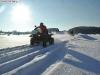 Schneetouren: auch mit dem ATV bei Berry Weishaupt