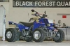 Black Forest Quad: Yamaha Banshee 350, Modell 2011, als LoF-Zugmaschine mit offener Leistung