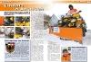 ATV&QUAD Magazin 2011/01-02, Seite 54 und 55. Einsatz: Schnee-Räumdienst & Verbrecher-Jagd in Ansbach