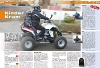 ATV&QUAD Magazin 2011/01-02, Seite 58. Service Kinder Kram: Kinder auf dem Quad mitnehmen / Kindersitze