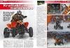 ATV&QUAD Magazin 2011/01-02, Seite 68 und 69. Quad-Rennsport, SnowSpeedHill Race: Kraft Akt im Tiefschnee