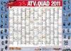 ATV&QUAD Magazin 2011/01-02, Mittelaufschlag: Kalender-Poster 2011