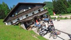 Can-Am-Spyder-Treffen 2011, Gasthaus Baumannwiesköpfl: Wo die Welt noch in Ordnung ist