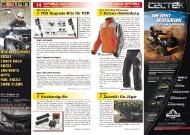 ATV&QUAD Magazin 2011/09-10, Seite 14-15, Aktuell: News & Trends RMX Racing: FOX Upgrade-Kits für RZR Speeds: Heizhandgriffe Klim: Enduro-Bekleidung Quadix: Zubehör für Jäger