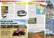 ATV&QUAD Magazin 2011/09-10, Seite 16-17, Aktuell: News & Trends  DerATVShop.de: Winterausrüstung Shad: Topcases Extrem Events: Scout-Tour durch Gabun