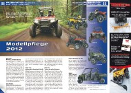 ATV&QUAD Magazin 2011/09-10, Seite 22-23, Präsentation Polaris: Modellpflege 2012