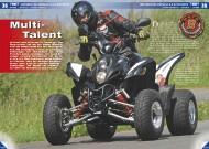 ATV&QUAD Magazin 2011/09-10, Seite 38-43, Test Motobionics Bistrada 3.5 SuperMoto: Multi-Talent