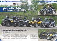 ATV&QUAD Magazin 2011/09-10, Seite 44-49, Umbau QJC Outlander: Vier attraktive Outlander-PIMPs