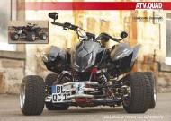 ATV&QUAD Magazin 2011/09-10, Seite 50-51,  Poster: Zollernalb Triton 450 SuperMoto