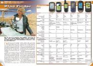 ATV&QUAD Magazin 2011/09-10, Seite 56-59, Service, Marktübersicht Offroad GPS-Geräte: Pfad Finder