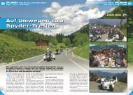ATV&QUAD Magazin 2011/09-10, Seite 60-63, Erlebnis, Tour zum Can-Am Spyder-Treffen 2011: Auf Umwegen zum Spyder-Treffen