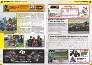 ATV&QUAD Magazin 2011/09-10, Seite 67, Sport-Nachrichten: GORM German Off Road Masters: Achtungserfolg Triton DMV Quad Challenge: Zweitägiges Quad-Festival in Bad Hersfeld