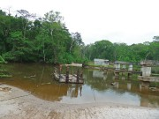 Extrem Events, Scout-Tour durch Gabun im Oktober 2011: Brücke? Denkste.