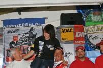 Triton DMV Quad Challenge 2011, Finale in Olching am 8. Oktober 2011: Siegerehrung mit Shorttrack-Königin Jasmin Dersch