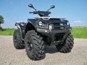 K&S Quad, Kawasaki KVF 750 (Modell 2012) mit LoF-Zulassung: Oversize-Reifen für erhöhte Bodenfreiheit
