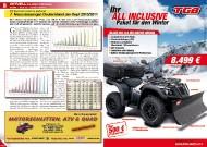 ATV&QUAD Magazin 2011/11-12, Seite 8-9, Aktuell: Zulassungszahlen VKP und LoF-Zugmaschinen Neuzulassungen Deutschland Januar-September 2010 / 2011