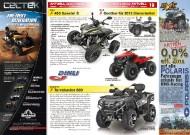 ATV&QUAD Magazin 2011/11-12, Seite 18-19, Aktuell: News & Trends  Dinli: 450 Special S  Dinli: Centhor für 2012 überarbeitet  Explorer: Terralander 800
