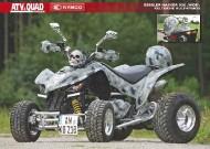 ATV&QUAD Magazin 2011/11-12, Seite 50-51, Poster Gessler Maxxer 300 'Wide': Keltische Kult-Kymco