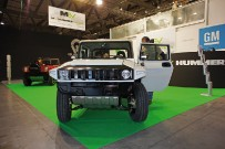MEV My Electric Vehicle: Hummer mit Elektro-Antrieb