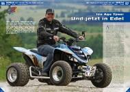 QRP Yamaha YFM 600 Fazer 'Ice Age': Und jetzt in Edel