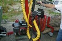 Hydraulik: angetrieben von 6 PS starkem Vanaguard-Motor von Briggs & Stratton