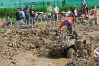 ... ja, eine Schlammgrube gibt's auch auf dem Quad-Event Baden