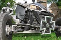 Mussgnug KFX 700, Kraft-Lenkung: QJC-A-Arms + Spurverbreiterungen