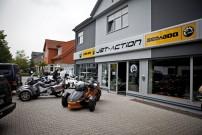 Jet-Action in Neukirchen Vluyn: präsentiert Can-Am Fahrzeuge und Sea-Doo Jet-Boote als erstes deutsches BRP Powersport-Center