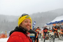 Snow SpeedHill Race in Eberschwang 2012: Veranstalter Joe Lechner
