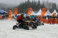 Snow SpeedHill Race in Eberschwang 2012: Quads am Start
