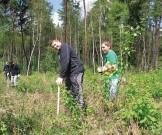 QuadLegion.de: Pflanz-Aktion im Wald