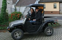 Quadmagic, Bettina Wilde & Uwe Klos: Hochzeit im Side-X-Side
