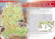 ATV&QUAD Magazin 2012/02, Seite 6-7: Quad-Vermietungen & Touren-Veranstalter