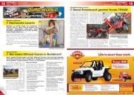 ATV&QUAD Magazin 2012/02, Seite 12-13; Aktuell: Leserbriefe, Leute, News & Trends: Nachwuchs-Leserin; Offroad-Touren in Rumänien; Daniel Rosenbusch gewinnt Honda TRX420