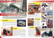 ATV&QUAD Magazin 2012/02, Seite 18-19; Messegeflüster, EICMA 2011: Auffälligkeiten entdeckt, Teil 2: Acewell, Bike-Lift, Camoplast, Quadrax, Storm