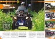 ATV&QUAD Magazin 2012/02, Seite 34-35; Einsatz Bergwacht im Frankenwald: Ganz einfach