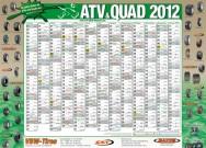 ATV&QUAD Magazin 2012/02, Mittelaufschlag: Kalender-Poster 2012