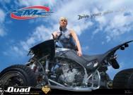 ATV&QUAD Magazin 2012/02, Poster: SMC mit Bodypainting-Girl