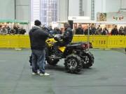 Q Team Nord auf den Hamburger Motorrad Tagen HMT 2012: Infos und Show rund um das Thema ATV und Quad