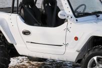 Quadix Buggy 800 4x4: Türen erübrigen beim Einstieg juvenilen Schwung und Übermut