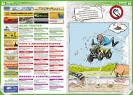 ATV&QUAD Magazin 2012/03, Seite 80-81, Szene:  Termine; Cartoon: Renegade-Reiner